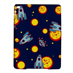 Rocket Ufo Moon Star Space Planet Blue Circle Ipad Air 2 Hardshell Cases by Mariart