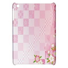 Sakura Flower Floral Pink Star Plaid Wave Chevron Apple Ipad Mini Hardshell Case by Mariart