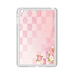 Sakura Flower Floral Pink Star Plaid Wave Chevron Ipad Mini 2 Enamel Coated Cases by Mariart