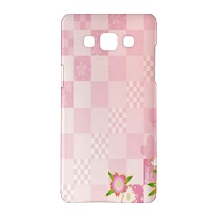 Sakura Flower Floral Pink Star Plaid Wave Chevron Samsung Galaxy A5 Hardshell Case  by Mariart