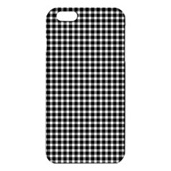 Plaid Black White Line Iphone 6 Plus/6s Plus Tpu Case by Mariart