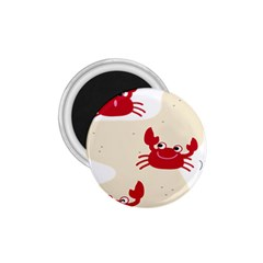 Sand Animals Red Crab 1 75  Magnets by Mariart
