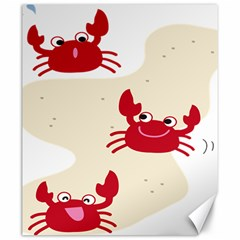 Sand Animals Red Crab Canvas 20  X 24