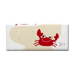 Sand Animals Red Crab Cosmetic Storage Cases by Mariart