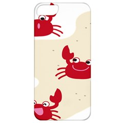 Sand Animals Red Crab Apple Iphone 5 Classic Hardshell Case by Mariart