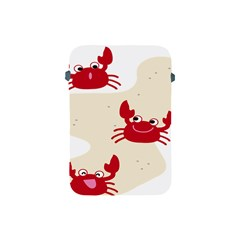 Sand Animals Red Crab Apple Ipad Mini Protective Soft Cases by Mariart