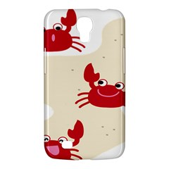 Sand Animals Red Crab Samsung Galaxy Mega 6 3  I9200 Hardshell Case by Mariart