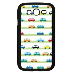 Small Car Red Yellow Blue Orange Black Kids Samsung Galaxy Grand Duos I9082 Case (black) by Mariart