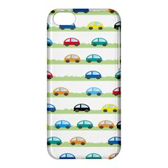 Small Car Red Yellow Blue Orange Black Kids Apple Iphone 5c Hardshell Case by Mariart