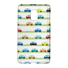 Small Car Red Yellow Blue Orange Black Kids Galaxy Note Edge by Mariart