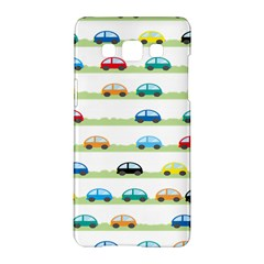 Small Car Red Yellow Blue Orange Black Kids Samsung Galaxy A5 Hardshell Case  by Mariart