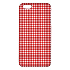 Plaid Red White Line Iphone 6 Plus/6s Plus Tpu Case by Mariart