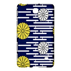 Sunflower Line Blue Yellpw Samsung Galaxy Tab 4 (7 ) Hardshell Case  by Mariart