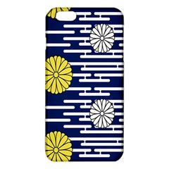 Sunflower Line Blue Yellpw Iphone 6 Plus/6s Plus Tpu Case by Mariart