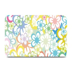 Star Flower Rainbow Sunflower Sakura Plate Mats by Mariart