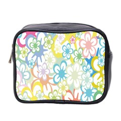 Star Flower Rainbow Sunflower Sakura Mini Toiletries Bag 2 Side