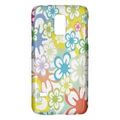 Star Flower Rainbow Sunflower Sakura Galaxy S5 Mini by Mariart