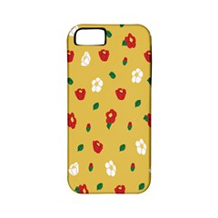 Tulip Sunflower Sakura Flower Floral Red White Leaf Green Apple Iphone 5 Classic Hardshell Case (pc+silicone) by Mariart
