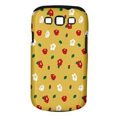 Tulip Sunflower Sakura Flower Floral Red White Leaf Green Samsung Galaxy S Iii Classic Hardshell Case (pc+silicone) by Mariart