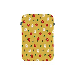 Tulip Sunflower Sakura Flower Floral Red White Leaf Green Apple Ipad Mini Protective Soft Cases by Mariart