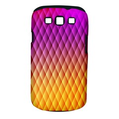 Triangle Plaid Chevron Wave Pink Purple Yellow Rainbow Samsung Galaxy S Iii Classic Hardshell Case (pc+silicone) by Mariart