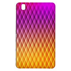 Triangle Plaid Chevron Wave Pink Purple Yellow Rainbow Samsung Galaxy Tab Pro 8 4 Hardshell Case by Mariart