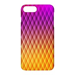 Triangle Plaid Chevron Wave Pink Purple Yellow Rainbow Apple Iphone 7 Plus Hardshell Case by Mariart