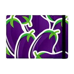 Vegetable Eggplant Purple Green Apple Ipad Mini Flip Case by Mariart