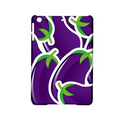 Vegetable Eggplant Purple Green Ipad Mini 2 Hardshell Cases by Mariart