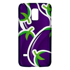 Vegetable Eggplant Purple Green Galaxy S5 Mini by Mariart