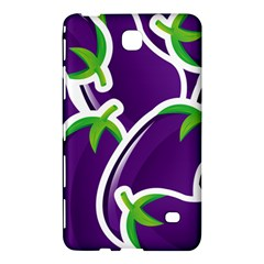Vegetable Eggplant Purple Green Samsung Galaxy Tab 4 (7 ) Hardshell Case  by Mariart