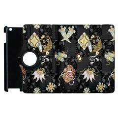 Traditional Music Drum Batik Apple Ipad 2 Flip 360 Case by Mariart