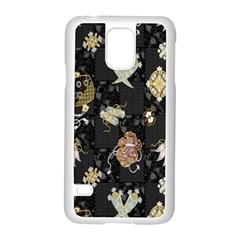 Traditional Music Drum Batik Samsung Galaxy S5 Case (white) by Mariart