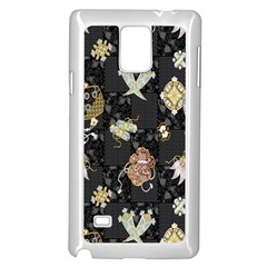 Traditional Music Drum Batik Samsung Galaxy Note 4 Case (white)