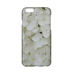 Hydrangea Flowers Blossom White Floral Photography Elegant Bridal Chic  Apple Iphone 6/6s Hardshell Case by yoursparklingshop