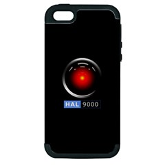 Hal 9000 Apple Iphone 5 Hardshell Case (pc+silicone)