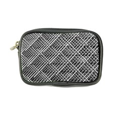 Pattern Metal Pipes Grid Coin Purse by Nexatart