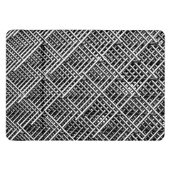Pattern Metal Pipes Grid Samsung Galaxy Tab 8 9  P7300 Flip Case