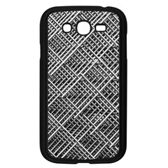 Pattern Metal Pipes Grid Samsung Galaxy Grand Duos I9082 Case (black)