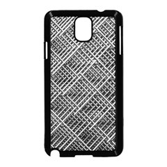 Pattern Metal Pipes Grid Samsung Galaxy Note 3 Neo Hardshell Case (black)