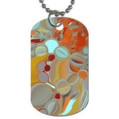 Liquid Bubbles Dog Tag (Two Sides)