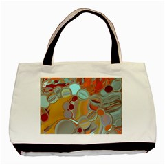 Liquid Bubbles Basic Tote Bag (Two Sides)