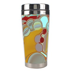 Liquid Bubbles Stainless Steel Travel Tumblers