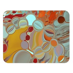 Liquid Bubbles Double Sided Flano Blanket (Large)
