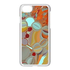 Liquid Bubbles Apple Iphone 7 Seamless Case (white) by digitaldivadesigns