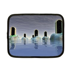 Abstract Gates Doors Stars Netbook Case (small)  by Nexatart