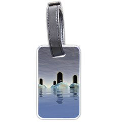 Abstract Gates Doors Stars Luggage Tags (one Side)  by Nexatart