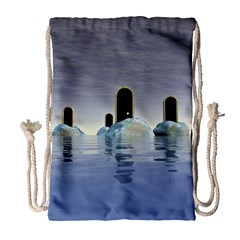 Abstract Gates Doors Stars Drawstring Bag (large) by Nexatart