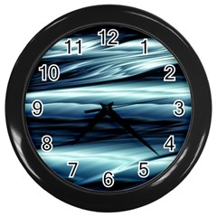 Texture Fractal Frax Hd Mathematics Wall Clocks (black) by Nexatart