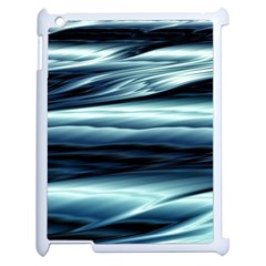 Texture Fractal Frax Hd Mathematics Apple Ipad 2 Case (white) by Nexatart